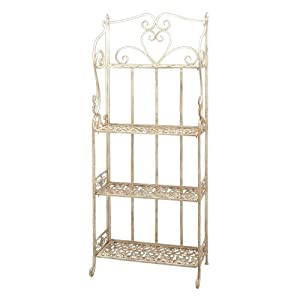 Deco 79 Metal 4-Tier Rack, 65-Inch by 26-Inch