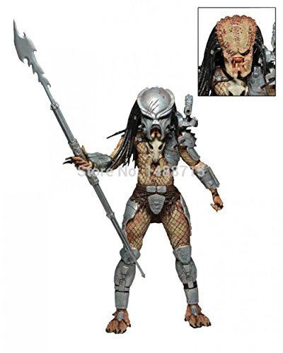 SDCC NECA Exclusive Ahab Predator Limited Edition Classic Horror Sci-Fi Movie 18CM Figure Toys Box (Predator Costumes For Kids)
