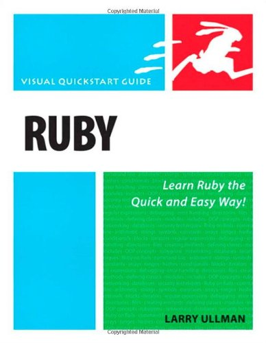 Ruby: Visual QuickStart Guide (Visual Quickstart Guides)