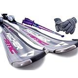 【スキー福袋】FISCHER AMC370 RF ブラック◆170cm★金具&ストック&グローブ付