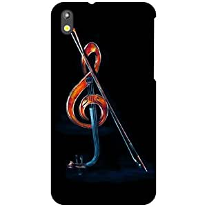 HTC Desire 816 Back Cover - Play Music Designer Cases