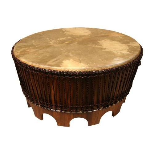 Buy Low Price Cyrano Reclaimed Wood Solid Round Drum Modern Eco Coffee Table Sch 550435