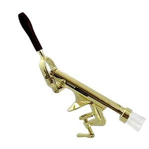 Paderno World Cuisine Bench Mount Uncorking Machine, Brass