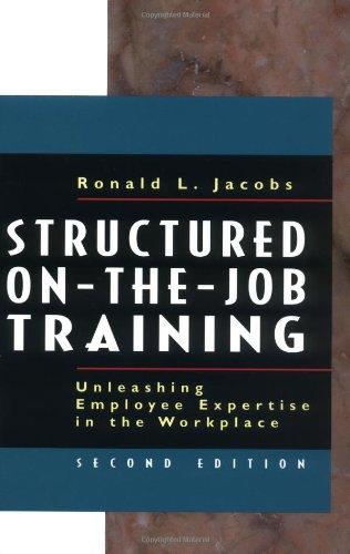 Structured On-the-Job Training: Unleashing Employee...