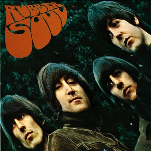 Beatles Rubber Soul cover steel fridge magnet (ro)