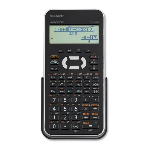 Sharp El-W535Xbsl Engineering/Scientific Calculator