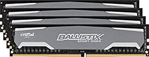 Crucial Ballistix Sport 32GB Kit (8GBx4) DDR4