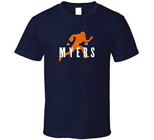 air-robert-myers-denver-football-player-t-shirt-l-navy