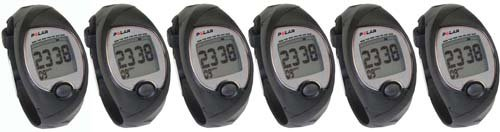 Image of Polar FS2 Heart Rate Monitors - Pack of 6 (B008CLG6EI)