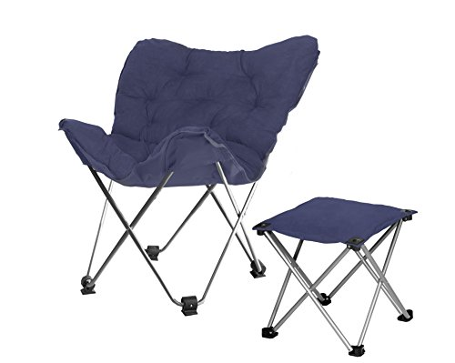 Rock Your Room Butterfly Chair With Ottoman