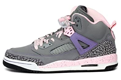 Nike GIRLS JORDAN SPIZIKE (GS) Cool Grey Purple Earth-Liquid Pink Purple Earth... by Nike