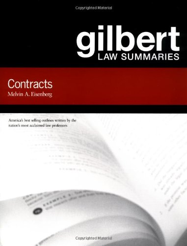 Gilbert Law Summaries on Contracts, 14th