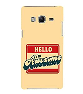 EPICCASE I'm Awesome Mobile Back Case Cover For Samsung Tizen Z3 (Designer Case)