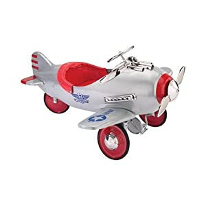 Airflow Silver Pursuit Pedal Plane