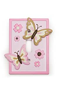 Kids Line Decor Shoppe Switchplate Cover, Butterfly (Discontinued by Manufacturer)
