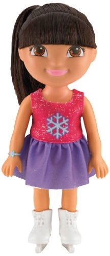 Fisher-Price Dora The Explorer Sparkling Skater Dora Adventure Doll - 1