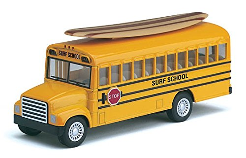 KINSFUN DISPLAY SCHOOL BUS LONG SURF BOARD 5""