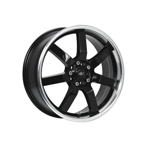 ICW Osaka 16x7.5 Black Wheel / Rim 4x100 & 4x4.5 with a 38mm Offset and a 73.00 Hub Bore. Partnumber 213MB 6750338