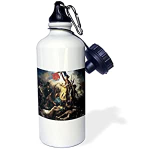 BLN Assorted Works Of Fine Art Collection - Liberty Leading the People by Eugene Delacroix - 21 oz Sports Water Bottle (wb_130152_1)