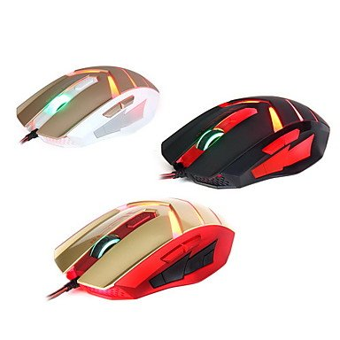 Mch-Sunsonny Tm50 Usb 2.0 Wired 6 Button Led Red Light Gaming Mouse
