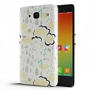 Koveru Back Cover Case for Xiaomi Redmi 2 - Monsoon