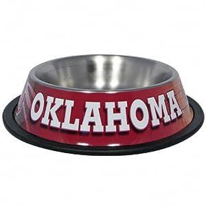 Buy Hunter MFG Oklahoma Sooners Dog Bowl by Hunter