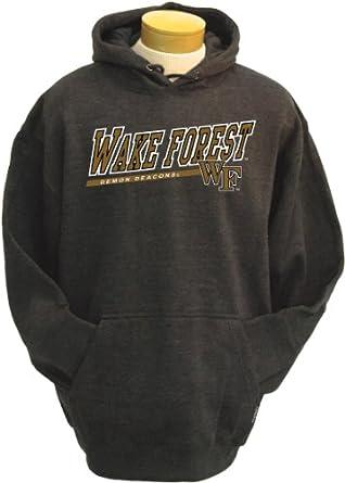 NCAA Mens Wake Forest Demon Deacons Zooey Hooded Sweatshirt by CI Sport