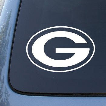 GREEN BAY PACKERS - FOOTBALL - Vinyl Car Decal Sticker #1889 | Vinyl Color: White