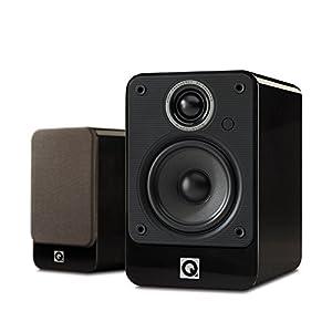 Q Acoustics 2010I Compact Bookshelf Speaker Stereo - Gloss Black