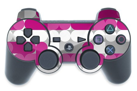 Playstation 3 Controller Skin Neo Pink