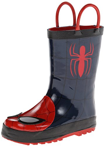 Western Chief The Ultimate Spider-Man Rain Boot (Infant/Toddler/Little Kid),Navy,6 M Us Toddler front-922674
