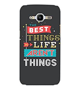 SAMSUNG GALAXY J2 2016 THE BEST THING Back Cover by PRINTSWAG