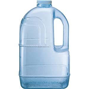 Bluewave BPA Free 1 Gallon Square Reusable Bottle