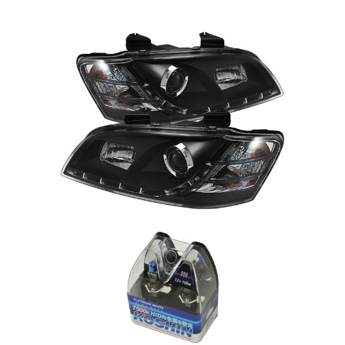 Carpart4u Pontiac G8 DRL LED Projector Headlights