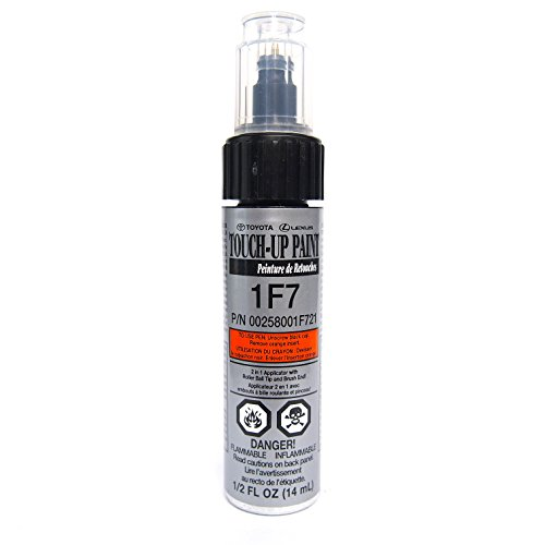Genuine Toyota 00258-001F7-21 Classic Silver Mica Touch-Up Paint Pen (.44 fl oz, 13 ml) (Toyota Camry Paint compare prices)