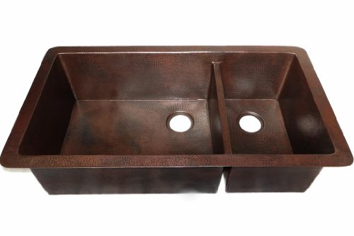 UNDERMOUNT COPPER KITCHEN SINK 40