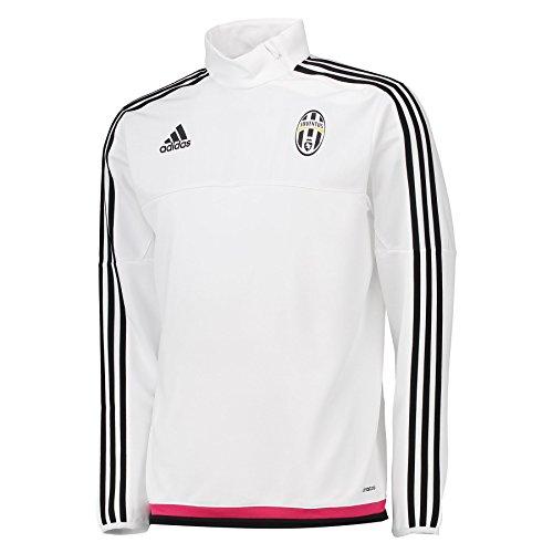 adidas-juve-trg-top-sweat-shirt-pour-homme-xl-blanco-negro-rosa