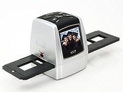 SVP FS1700(with 16GB) Silver Digital Film Scanner w/ 2.4