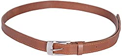 Dagger Women's Slim Fit Belt (Brown)(Dag_B_002)