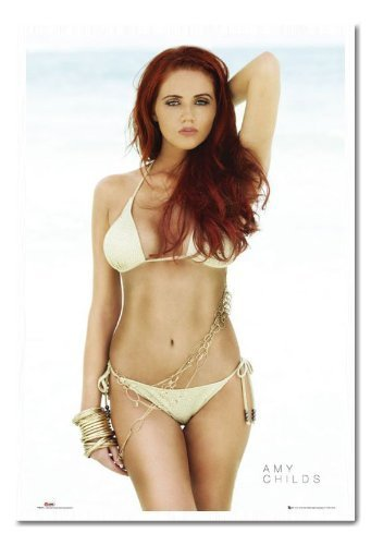 Amy Childs The Only Way is Essex Poster Sughero Pin Lavagnetta Bianco Con cornice-96.5x 66cms (circa 96,5x 66cm)