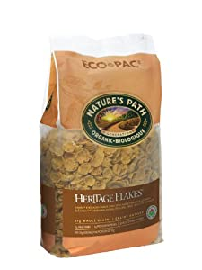 Nature's Path Organic Heritage Flakes Cereal, 32-Ounce Bags (Pack of 6)