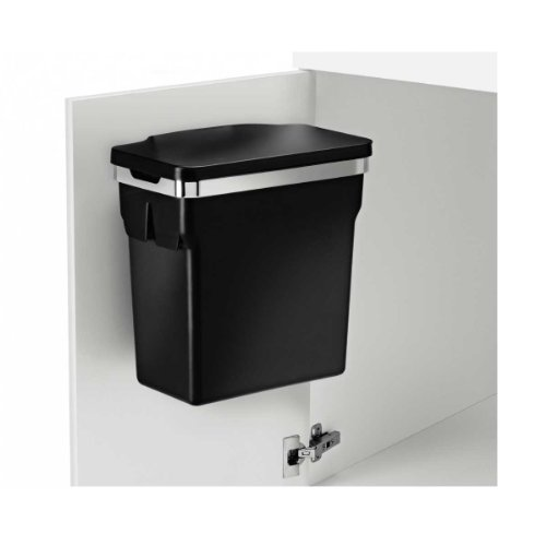 cabinet door trash can wastebasket hanging heavy duty kitchen garbage bin office ebay. Black Bedroom Furniture Sets. Home Design Ideas