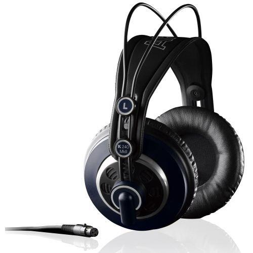 ヘッドホン おしゃれ AKG プロフェッショナルスタジオモニター・セミオープンヘッドフォン K240MK2をおすすめ