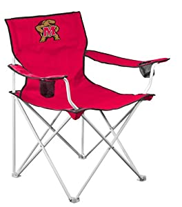 NCAA Maryland Terps Deluxe Folding Chair by Logo