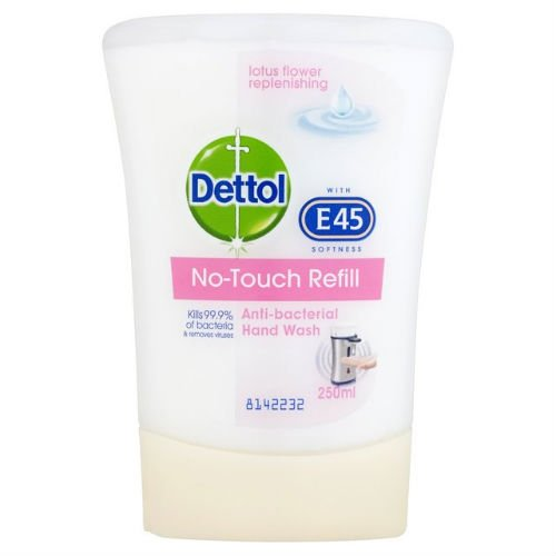 dettol-e45-no-touch-soap-refill-lotus-flower-250ml-case-of-4-by-dettol