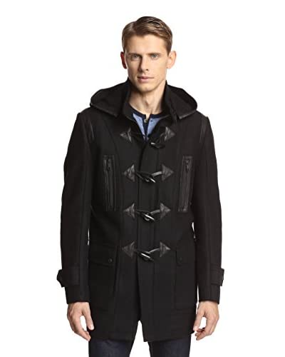 Andrew Marc Men's Pierce Elongated Toggled Wool Coat
