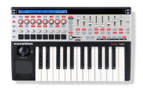 Novation 25 SL MkII USB Midi Controller Keyboard 25 Keys