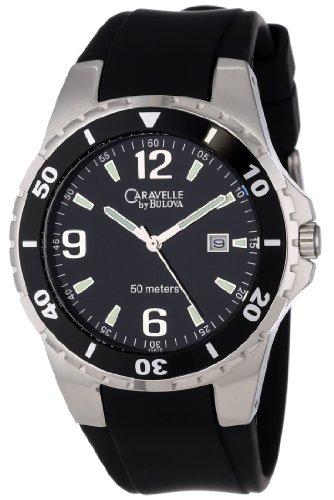 caravelle-by-bulova-caballero-45b35-rubber-strap-black-dial-reloj