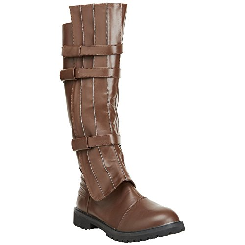 Funtasma Walker-130 Men'S Knee High Buckled Superhero Boot Costume Boot