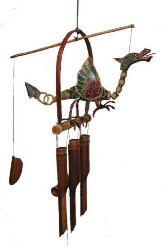 Dragon Flame Wind Chime